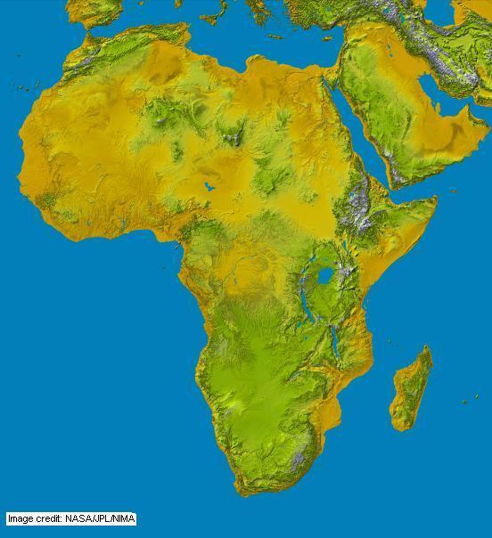 Africa World Maps